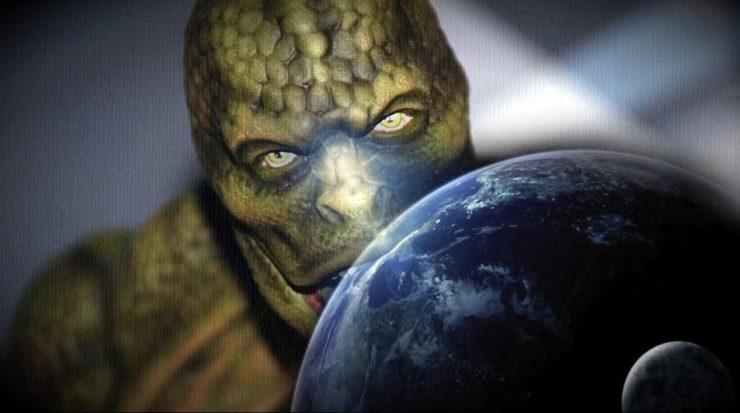 A matriz holográfica reptiliana