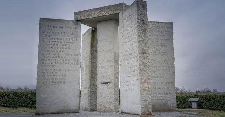 Pedras Guias da Geórgia