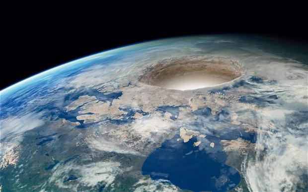 O planeta oco
