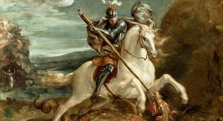 São Jorge, O dragão e a princesa