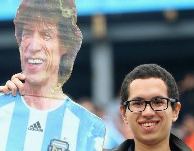 Mick Jagger é pé frio