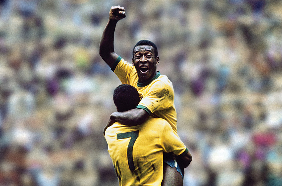 Pelé tem mil gols
